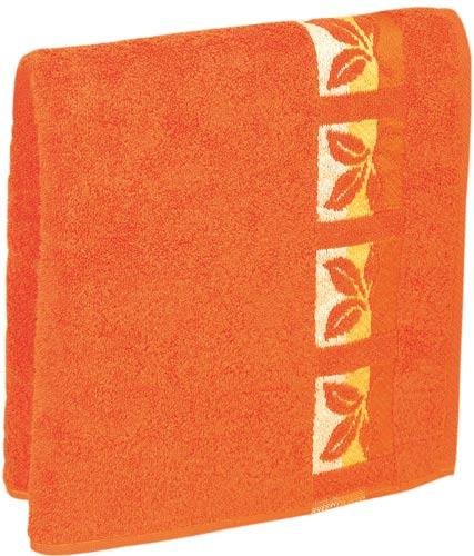 Ručník Fraza - oranžový