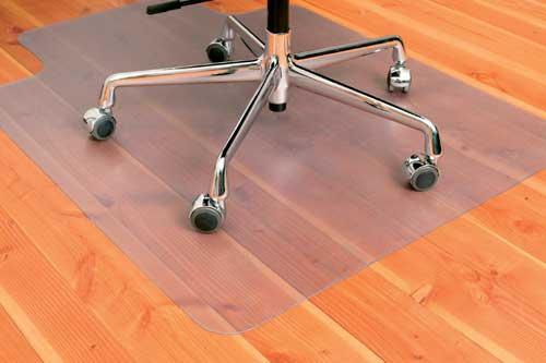 Podložka pod kancelářskou židli na podlahy 135 x 122 cm, 3mm