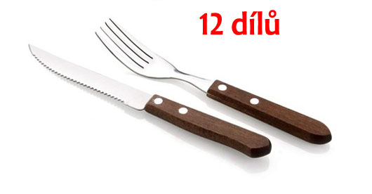 Steakový set 12 dílů