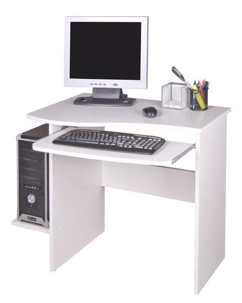 Počítačový stůl Maxim bílá - PC