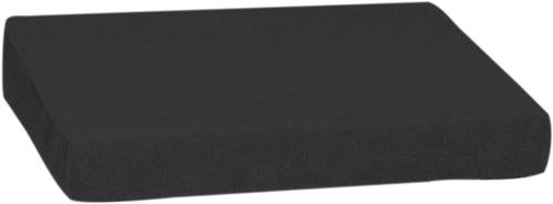 Froté prostěradlo 140 x 200 cm, černá