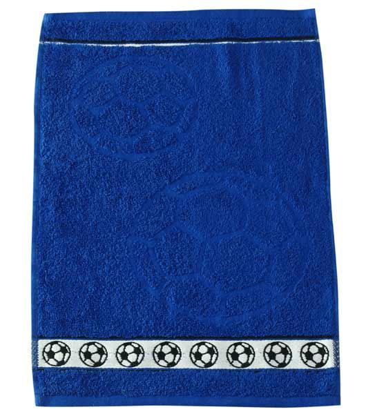 Dětský ručník Fraza - míč modrý