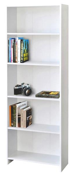 Knihovna - bílá 1613B, IDEA
