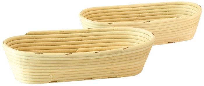 Ošatka na kynutí chleba oválná 0,75 kg