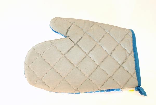 Chňapka - grilovací rukavice BBQ, 25 cm