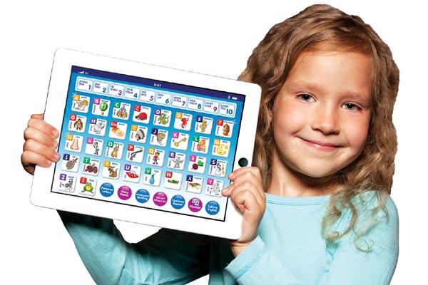 Dětský mobilní telefon IPHONE vzdělávací v češtině