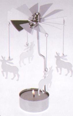 Andělské zvonění  na čajovku, nikl
