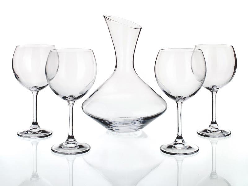 Set na víno s karafou Crystal Banquet