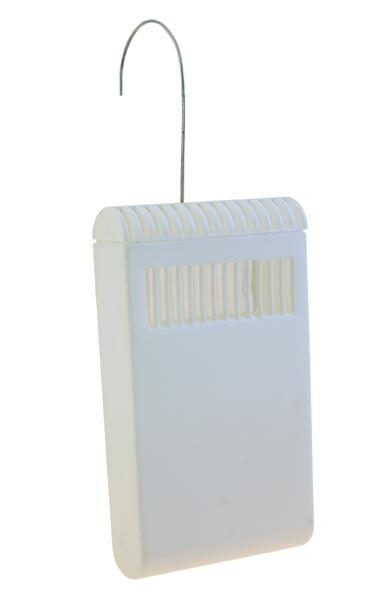 Závěsný odpařovač na radiátor 22 x 13 cm, plastový