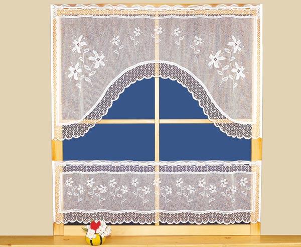 Kusová záclona COLIBRA - 115 x 60 cm