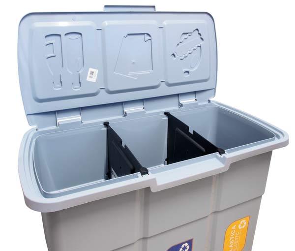 Koš na tříděný odpad ECO