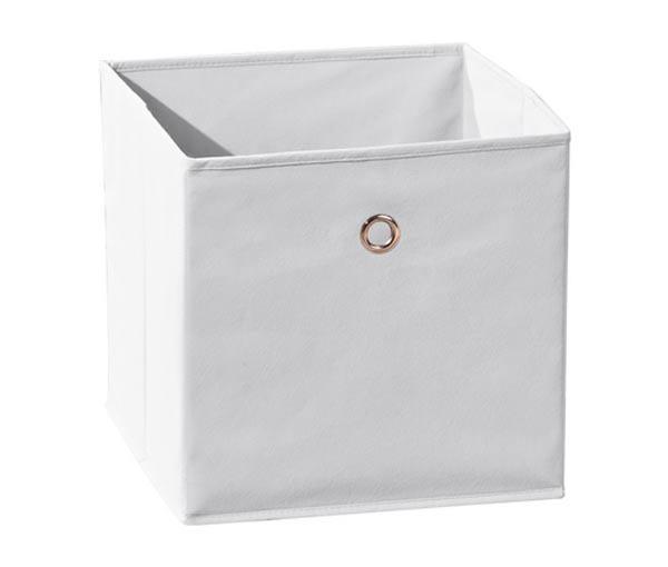 Winny - textilní box, bílý