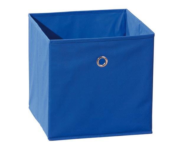 Winny - textilní box, modrý