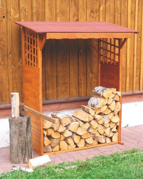 DŘEVNÍK pro uložení dřeva