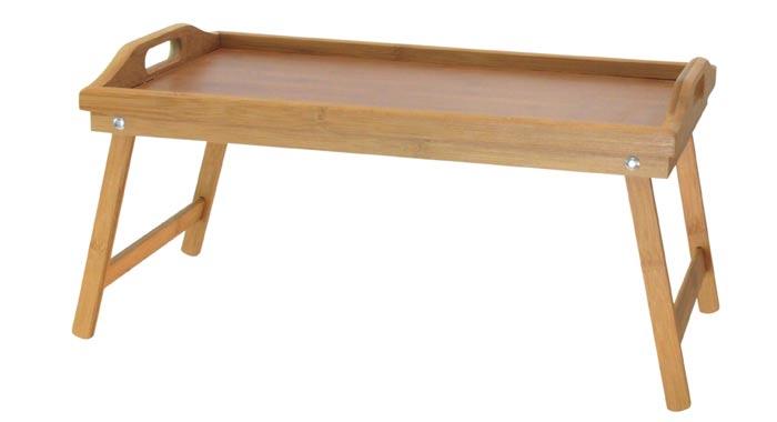 Servírovací stolek do postele bambus