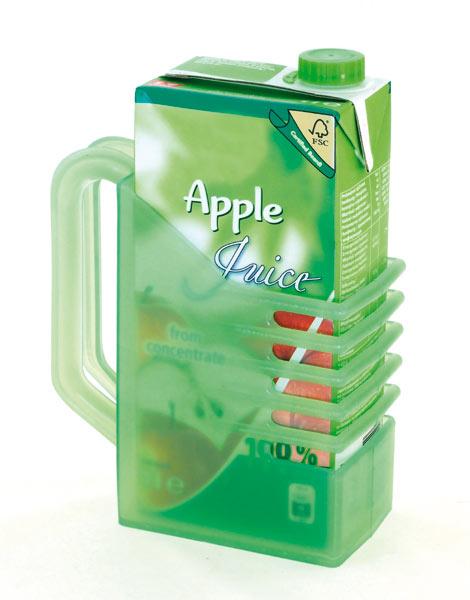 Držák na juice a na krabici mléka