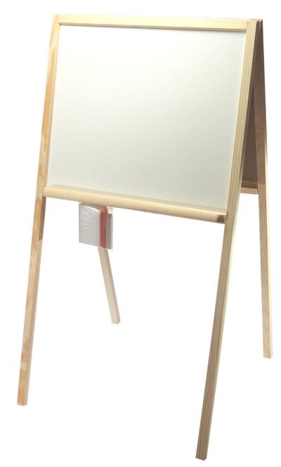 Tabule dřevěná oboustranná + hubka a křídy