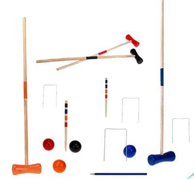 Hra Kroket dřevěná