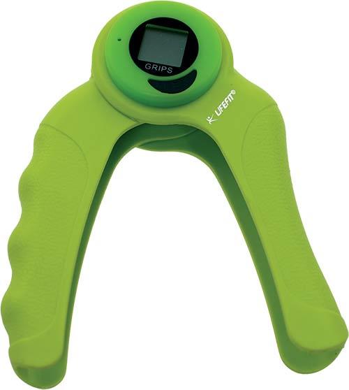 Posilovač zápěstí a prstů ABS Hand Grip Counter
