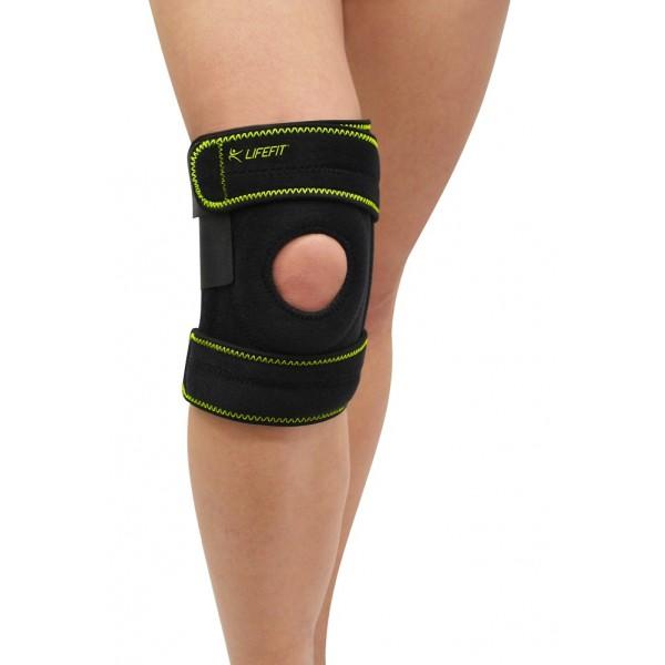 Kompresní bandáž - ortéza neoprén koleno otevřené bez výztuh