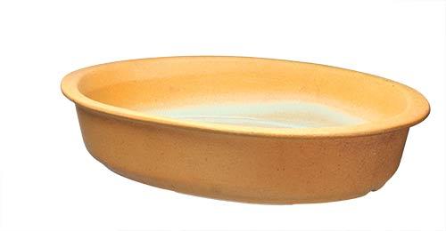 Zapékací miska keramická 32 x 22 cm, písková