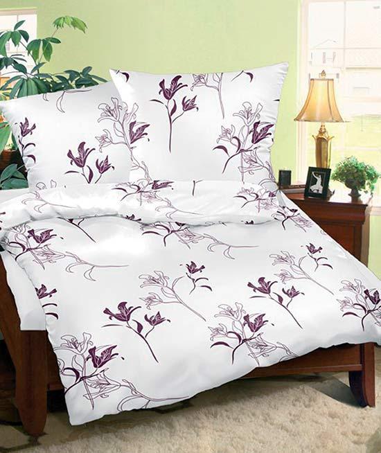Povlečení bavlna na 2 postele Tamara bílá 140x200 70x90, Smolka