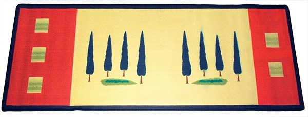 Předložka do kuchyně Toskana 60 x 180 cm