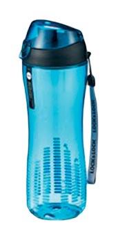 Láhev sportovní 550 ml s těsnícím víčkem, modrá, Lock and Lock