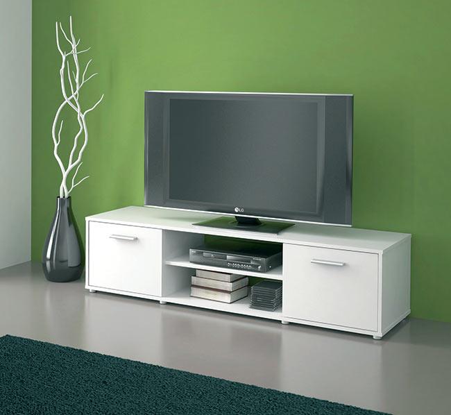 Televizní stolek Tv ZU01 bílá / bílá