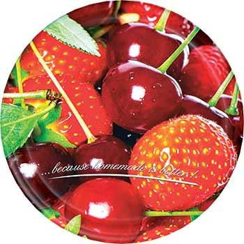 Víčko twist šroubovací 66 / 10 ks - ovoce