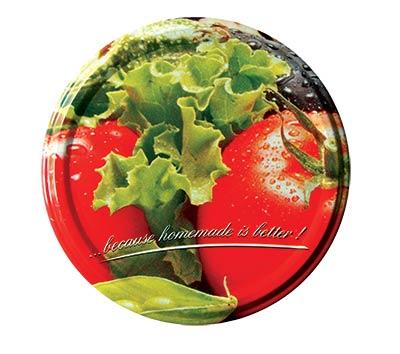 Víčko twist zavařovací, šroubovací 82 / 10 ks - zelenina