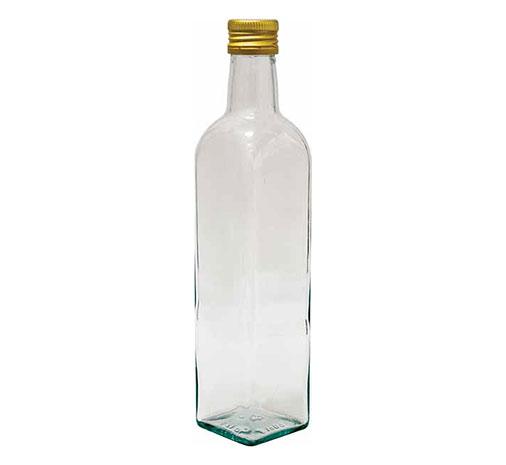 Skleněná láhev s uzávěrem 0,5 L / Marasca