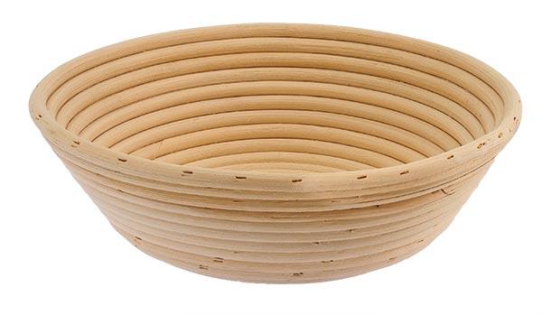 Ošatka na kynutí chleba kulatá 1,25 kg, 24 cm