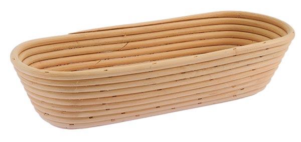 Ošatka na kynutí chleba oválná 1,25 kg, 34 x 13 cm