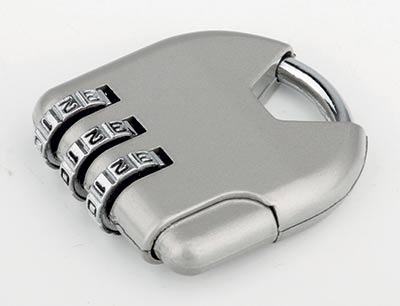 Zámek kódový visací na zavazadlo, kabelku 2956