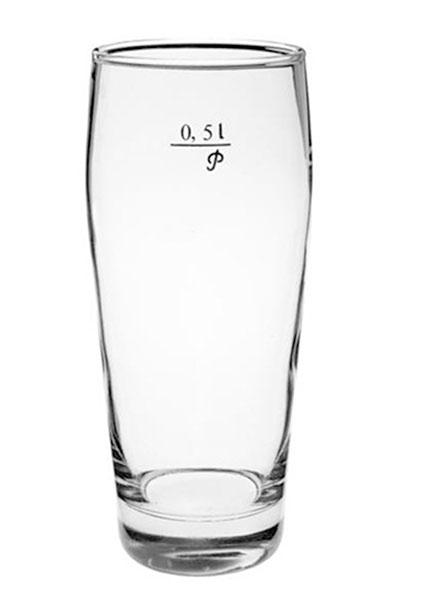 Pivní sklenice Klasik s cejchem