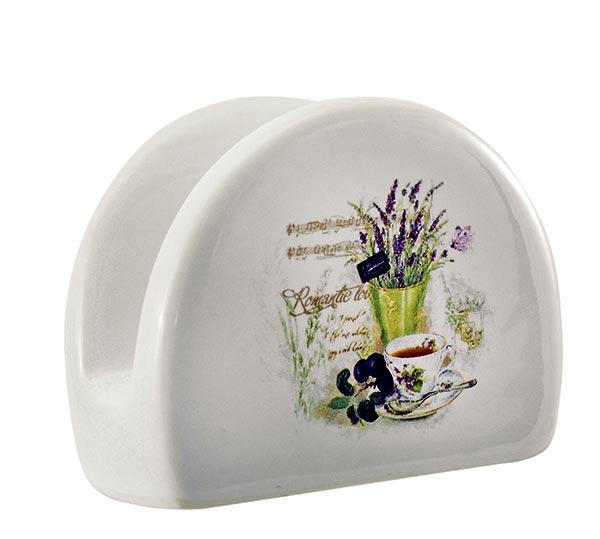 Keramický stojánek na ubrousky Lavender