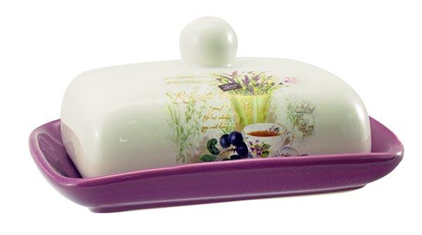 Keramická máslenka Lavender