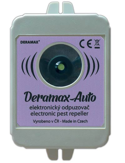 Ultrazvukový odpuzovač 0210 plašič kun a hlodavců do auta Deramax-auto