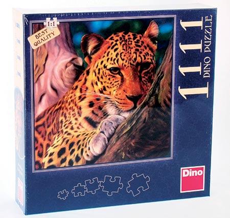 Puzzle 1111 dílků LEOPARD