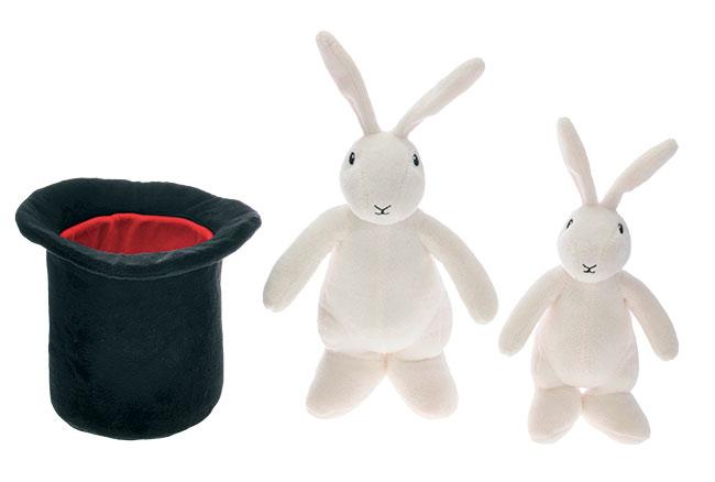 Bob a Bobek plyšáci 25 a 20 cm s kloboukem