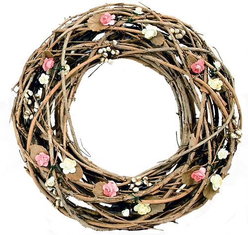 Jarní věnec Růžičky, průměr 30 cm