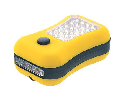 Svítilna 24+4 LED s háčkem a magnetem