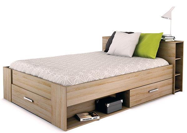 Multifunkční postel POCKET dub sonoma, Idea