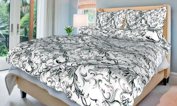 Povlečení bavlna na 2 postele Zuzana bílá 140x200 70x90, Smolka