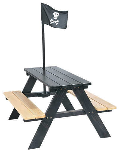 Dětský zahradní nábytek Piráti