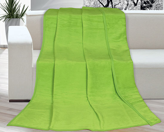 Deka Kira Plus 150 x 200 cm, zelená