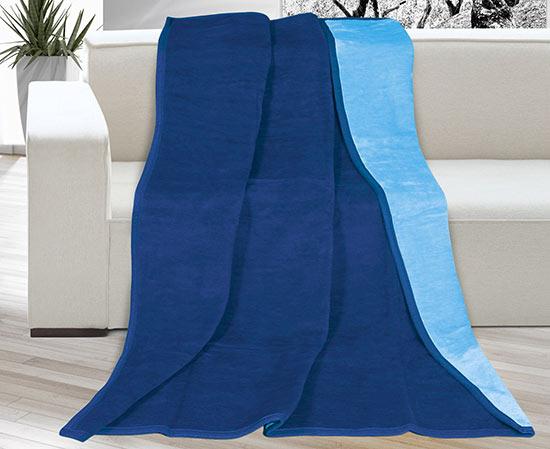 Deka Kira Plus 150 x 200 cm, modrá