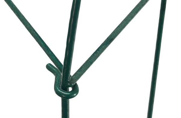 Plůtek zahradní kovový poplastovaný 45 x 3 m - 7 ks, zelený