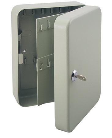 Skříňka na klíče 1770 klíčovka na 46 klíčů 250 x 180 x 80 mm, šedá